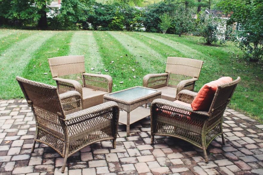 Martha Stewart Living Patio Furniture Set Ebth