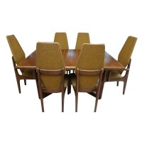 Mid Century Modern Dining Table and Chairs by Kroehler : EBTH