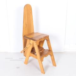 Chair Step Stool Ironing Board Two Seat Chairs Combo Ebth
