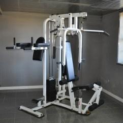 Captains Chair Gym Machine Green Slipper Paramount Ctx Home Ebth