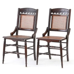 Antique Cane Chairs Patio Chair Replacement Material Ebth