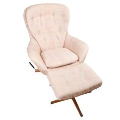 Ab Swivel Chair Baby 3 Months Modern Armchair And Ottoman By Swedfurn Slatte Mobler Toreboda Ebth