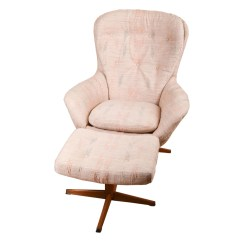 Ab Swivel Chair Drive Medical Transport Modern Armchair And Ottoman By Swedfurn Slatte Mobler Toreboda Ebth