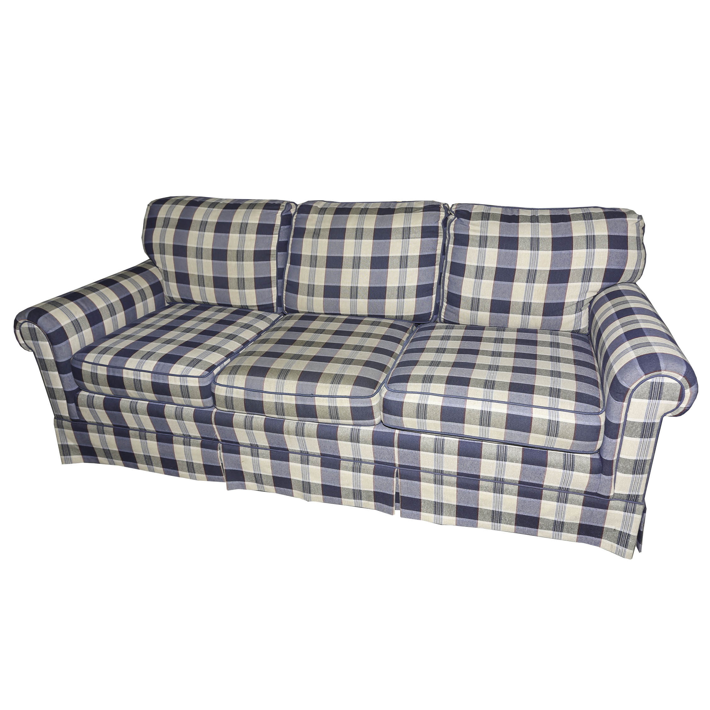 wesley hall sofas fancy couches traditional plaid sofa by ebth