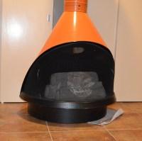Retro Preway Cone Freestanding Electric Fireplace : EBTH