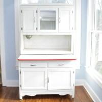 Vintage Hoosier Cabinet  Avie Home