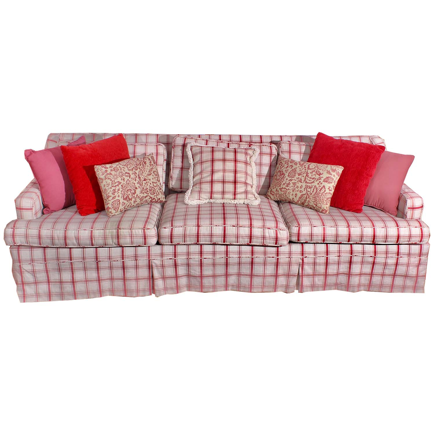 cream sofa throws latex cushions india red and plaid accent pillows ebth