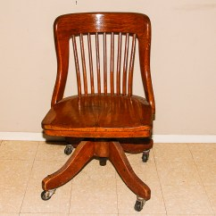 Old Wooden Desk Chair Best Pc Gaming Chairs 2018 Vintage Office Ebth