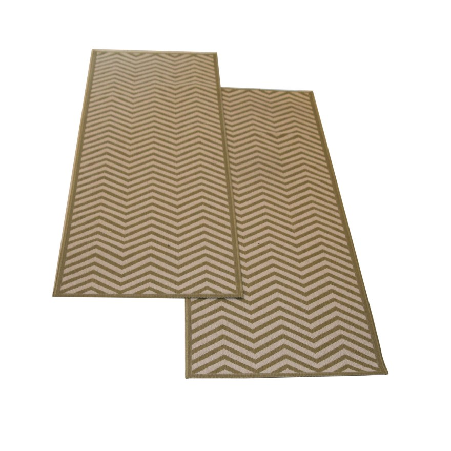 Ballard Designs Chevron Stripes Indoor/Outdoor Runner Rug ...