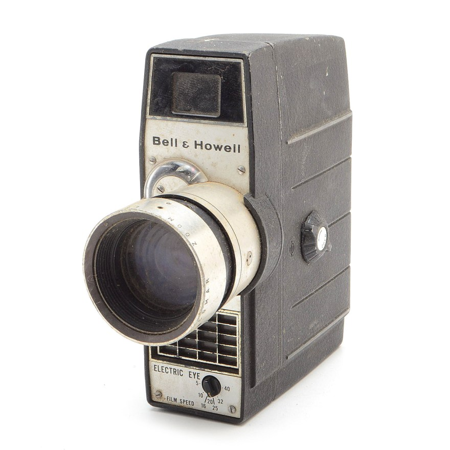 Bell Howell Electric Eye 8mm Movie Camera