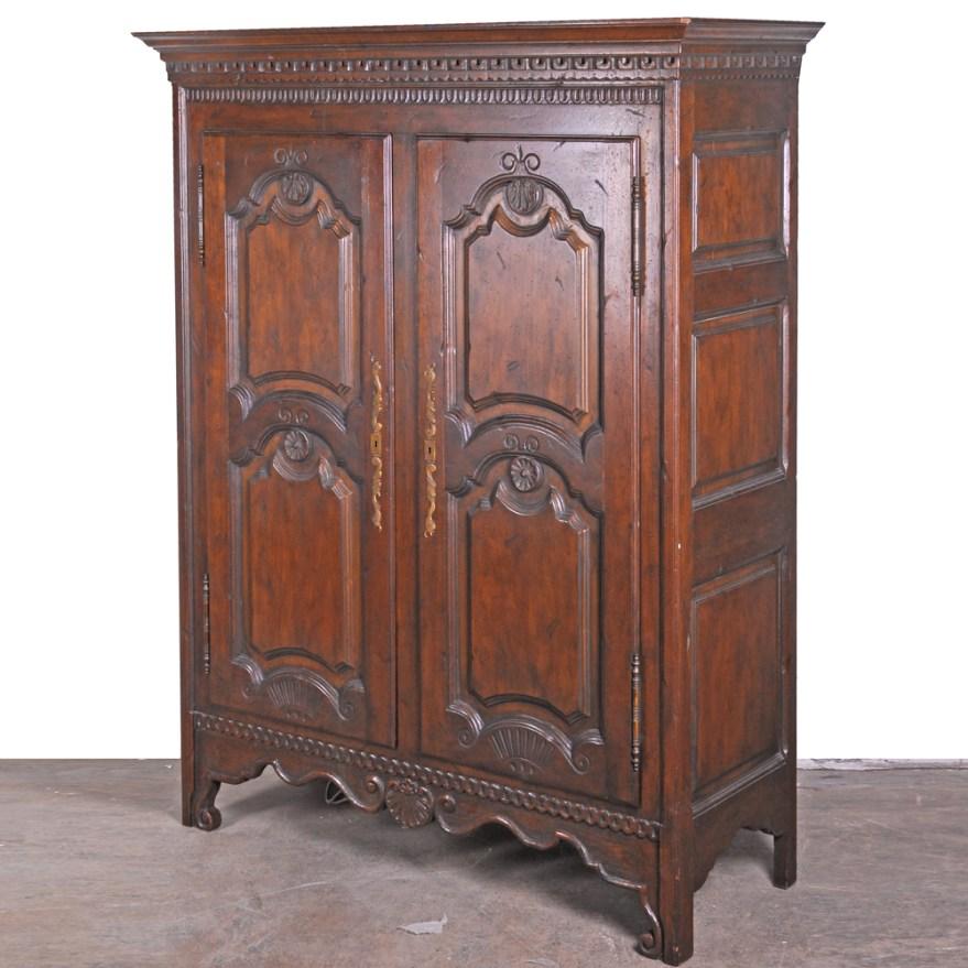 Louis Xv Style Armoire Baker Furniture Ebth