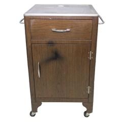 Rolling Kitchen Cabinet Bosch Sinks Vintage Ebth