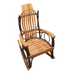 Handmade Rocking Chairs Expensive Office Child Size Artisan Chair Ebth
