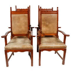 Vintage Wooden Dining Chairs Tete A Chair Oak Ebth