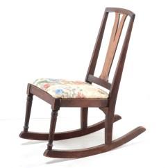 1920s Rocking Chair Osaki Massage Chairs Walnut Ebth