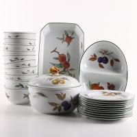 Evesham Tableware & Royal Worcester Evesham Gold ...