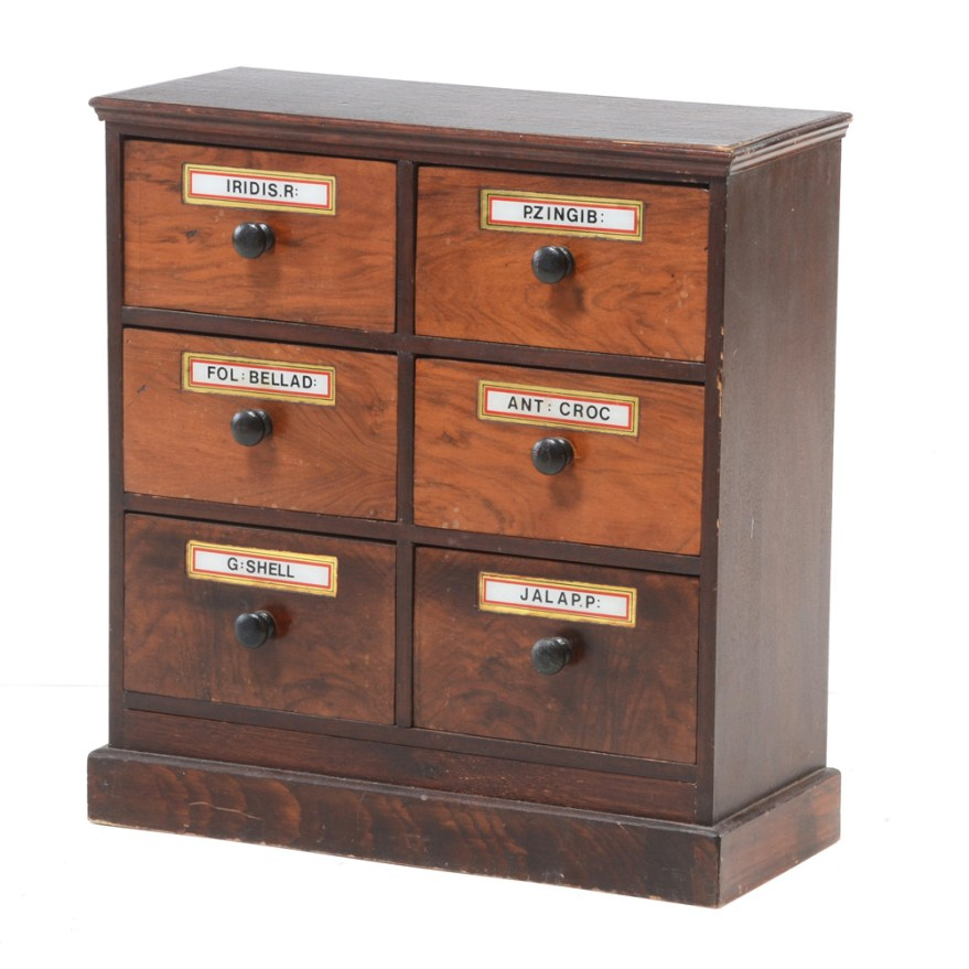 Vintage Apothecary Cabinet  EBTH