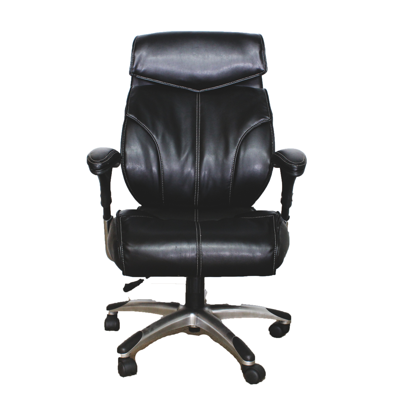 true innovations office chair folding bar stool chairs black leather executive ebth