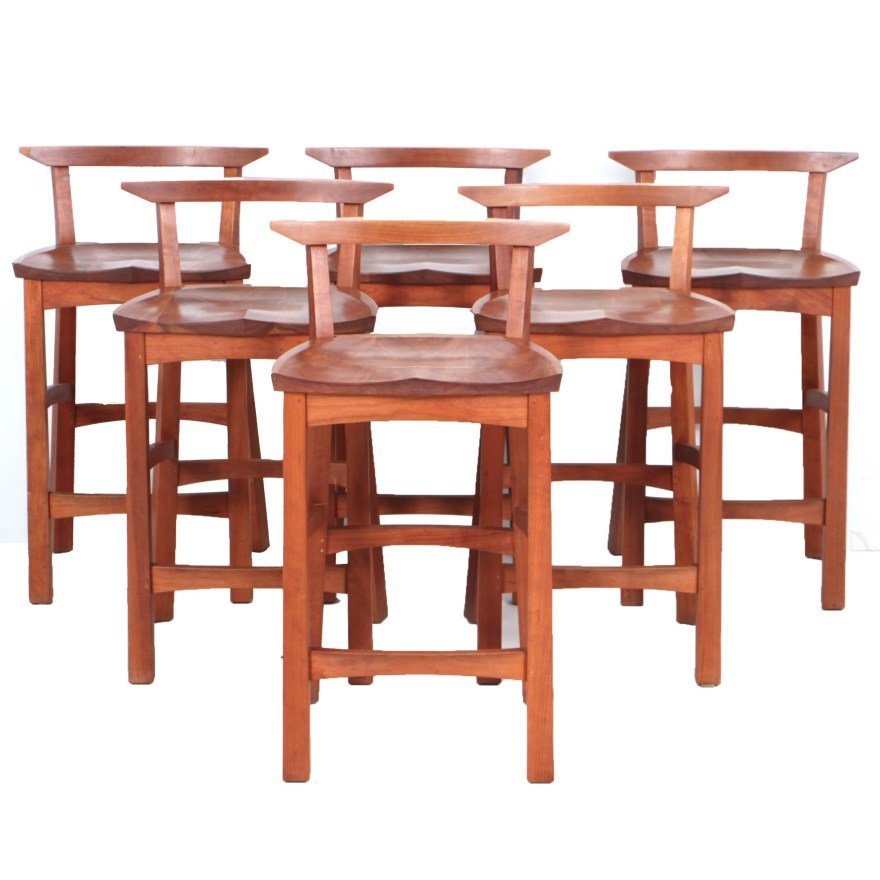 Japanese Bar Stool Wood