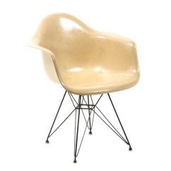 Fiberglass Shell Chair Boatswains Vintage Eames For Herman Miller Ebth
