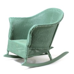 Vintage Wicker Rocking Chair Dining Chairs Set Of 4 Target Rocker Ebth