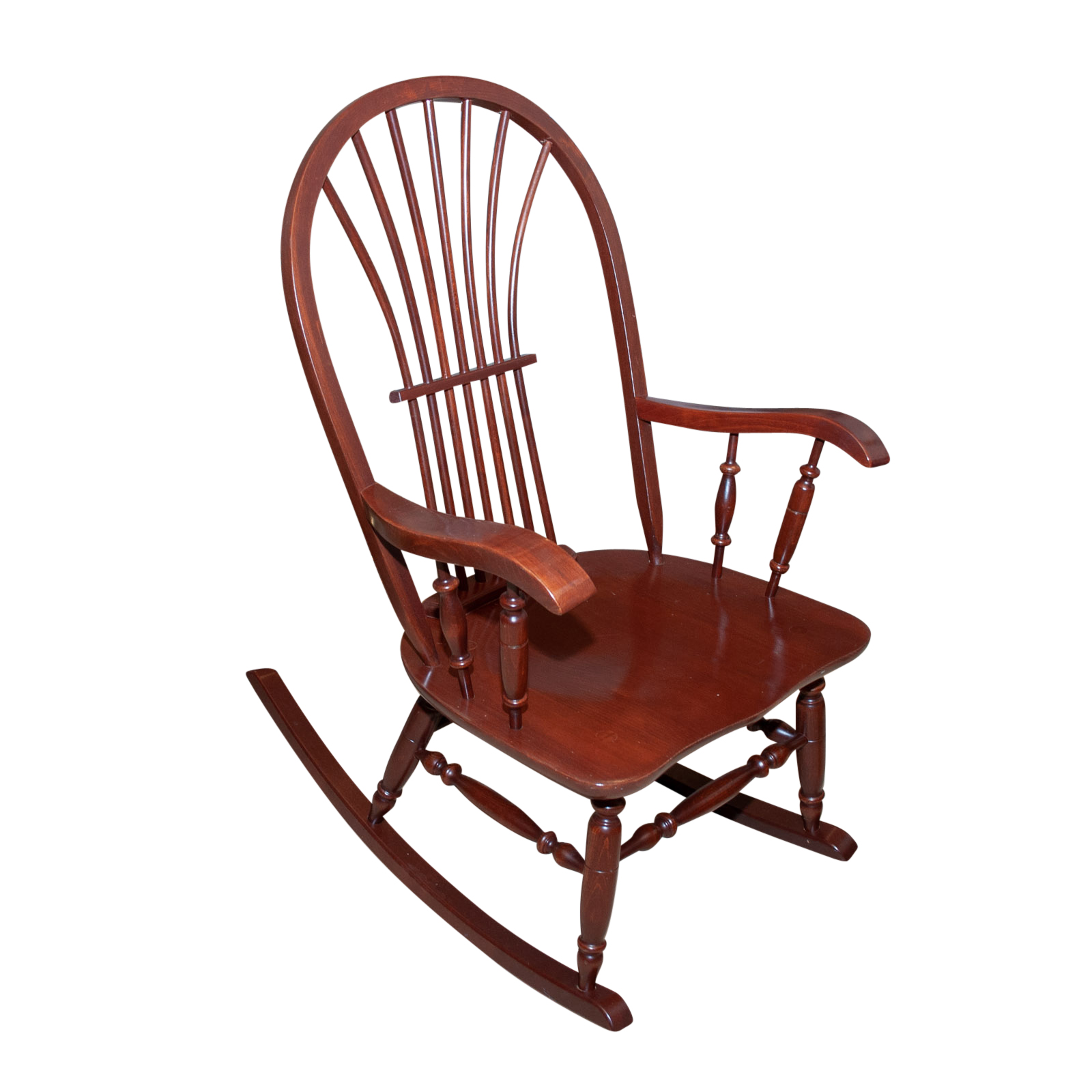 wood rocking chair styles childrens comfy chairs kli logatec furniture windsor style ebth