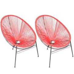Patio String Chair Design Dining Table Pair Of Acapulco Style Chairs Ebth