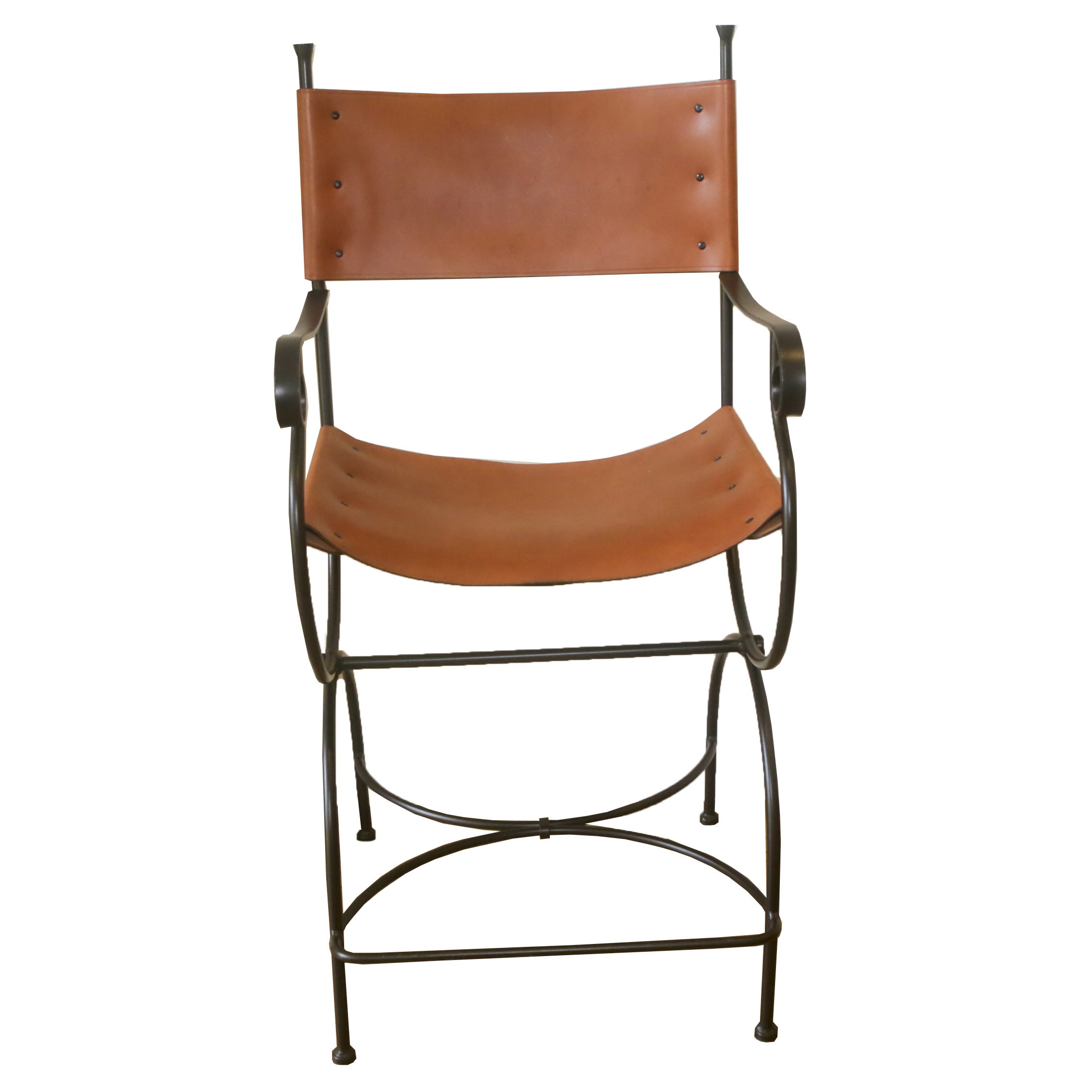 leather directors chair land of nod chairs director s barstool ebth