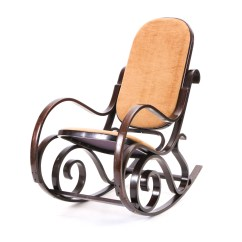 Bent Wood Rocking Chair Hardwood Folding Chairs Thonet Style Bentwood Ebth