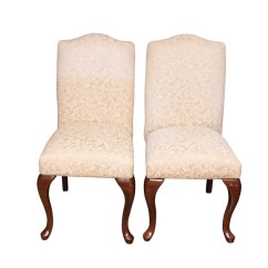 Queen Anne Style Chair Pink Beach Bombay Company Chairs Ebth