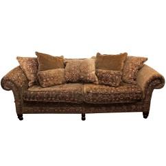 Bernhardt Sofas L Shaped Grey Sofa With Accent Pillows Ebth