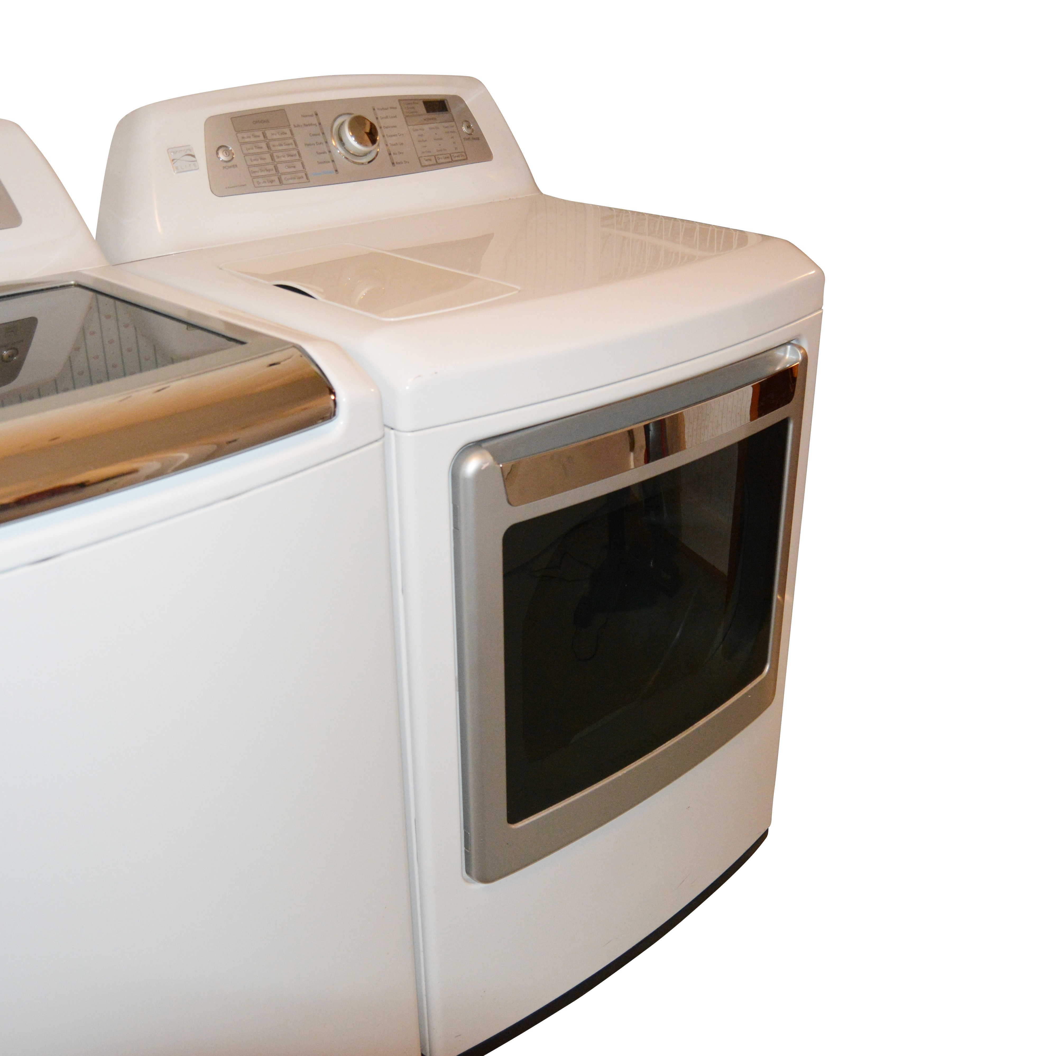 used washers and dryers for sale used washer and dryer auction ebthkenmore elite steam electric dryer [ 3995 x 3995 Pixel ]
