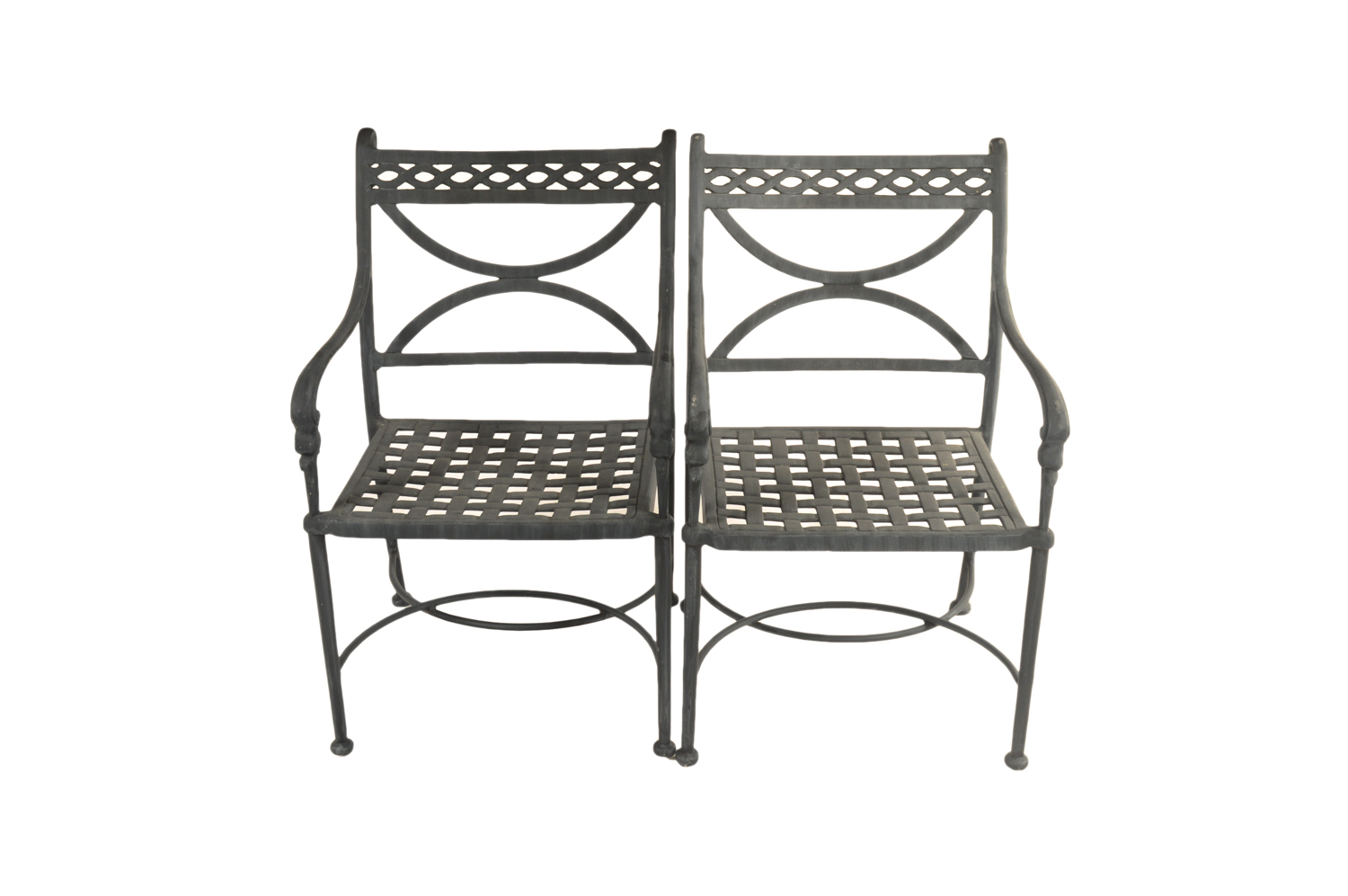 black metal patio chairs fishing chair maplestory 2 neoclassical style ebth