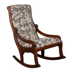 Types Of Rocking Chairs Room Essentials Task Chair Target Empire Style Upholstered Mahogany 20th Century Ebth