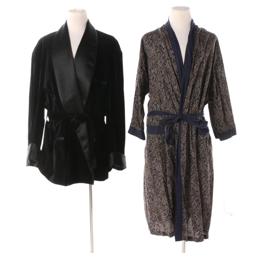 Men' Vintage State Maine Robe And Rochester Couture