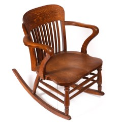 Types Of Rocking Chairs Evenflo High Chair Quarter Sawn Wood Ebth