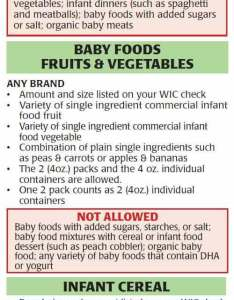 Baby foods infant cereal also new jersey wic approved food list jpma inc rh ebtshopper