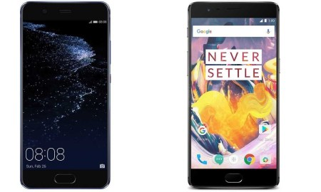 Compare Between Samsung Galaxy S8 And OnePlus 3T Smartphones
