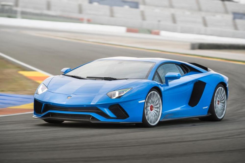 New Lamborghini Aventador S Model 2017