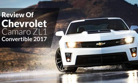 Review Of Chevrolet Camaro ZL1 Convertible 2017
