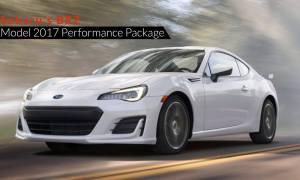 Subaru's BRZ Model 2017 Performance Package