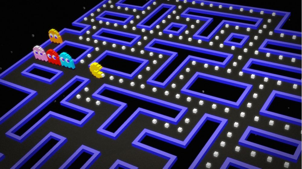 Microsoft Pac-Man Old Game Has Played The Artificial Intelligence