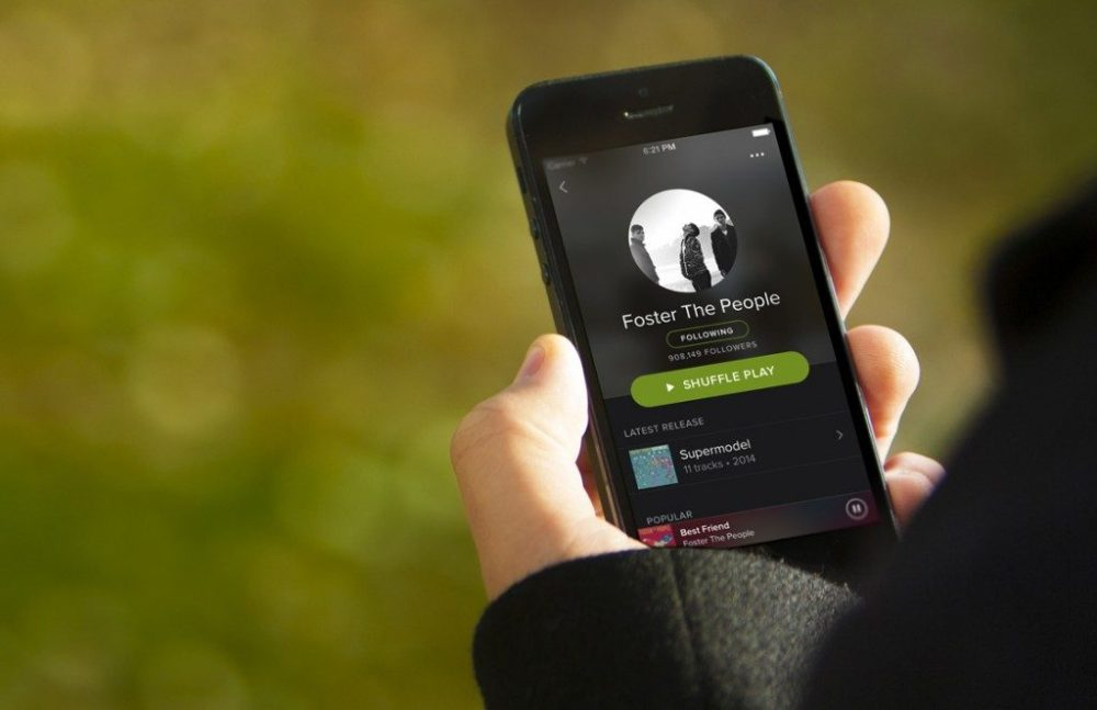 Spotify Doesn't Allow Users Who Share Family Account