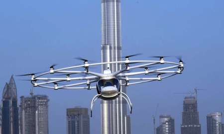 Dubai To Launches Trial of Volocopter Driverless Flying Taxi Service