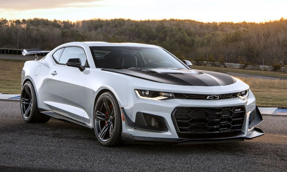 A Quickspin Chevy Camaro SS 2018 Model