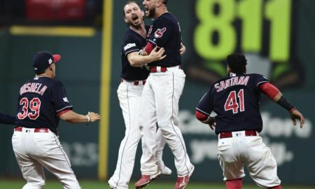 Cleveland Indians Beat New York Yankees With 9-8 In 13 innings To Take 2-0 Series Lead