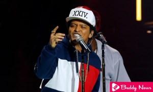 Bruno Mars Achieved Seven Prizes At American Music Awards ebuddynews