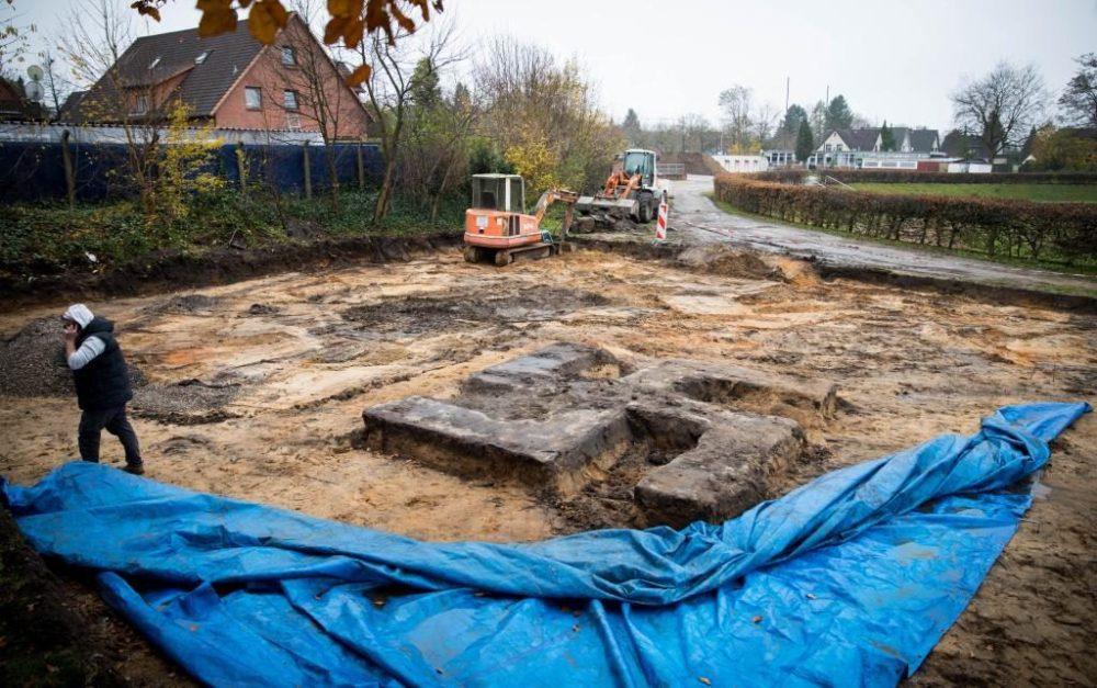 Buried Giant Swastika Found In The Football Ground At German City Of Hamburg ebuddynews