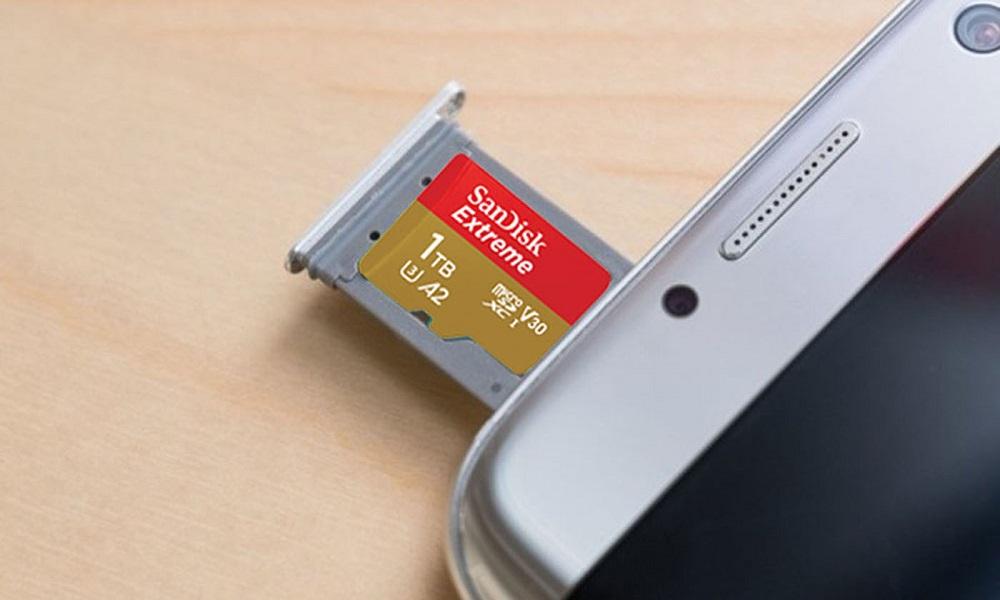 Sandisk MicroSD 1TB - eBuddy News
