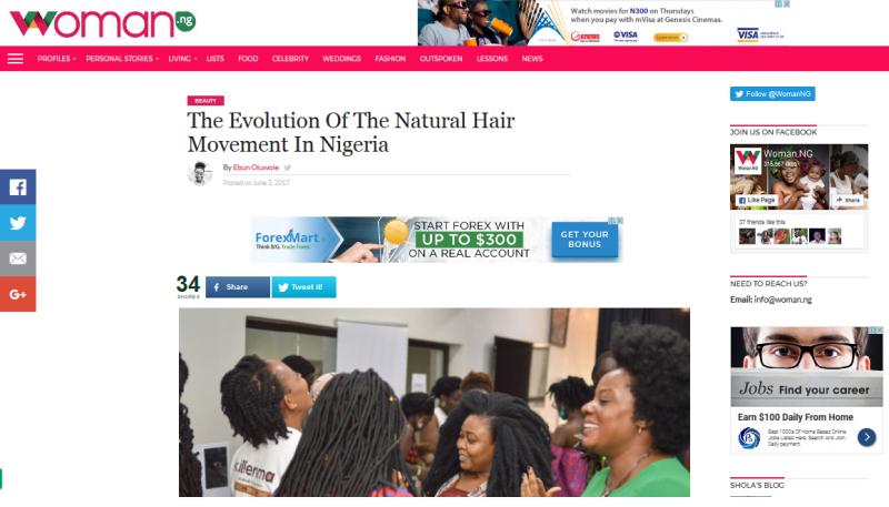 http://woman.ng/2017/06/evolution-natural-hair-movement-nigeria/